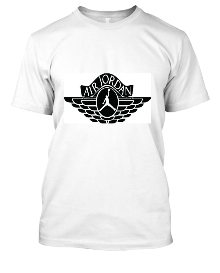 jordan branded  t-shirt - Front