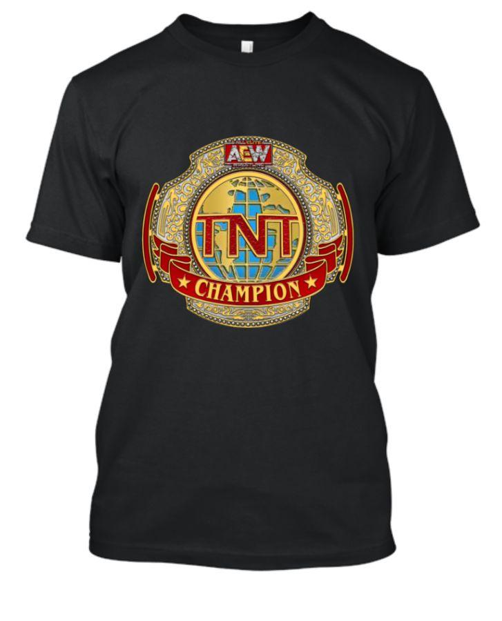 AEW TNT Championship T-Shirt. - Front