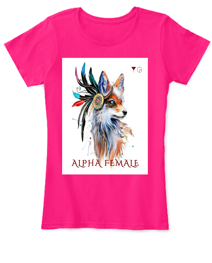 Alpha Female Wolf T-shirt Limited Edition| Yash Gallery|High Quality Best Price Color Variety |BUY NOW| HURRY!! - Front