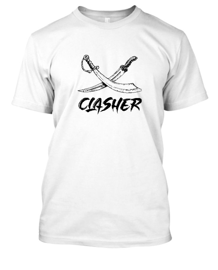 Clasher - Tee Shirt - Front