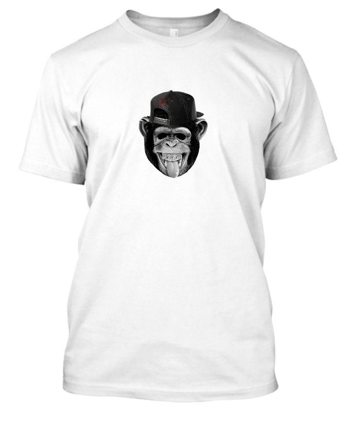 Crazy Monkey - Tee Shirt - Front