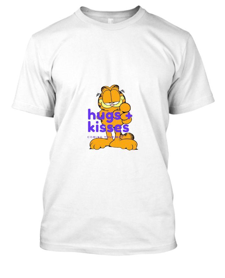 Garfield half sleeve t-shirt - Front