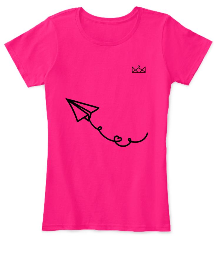 Girl's Half-Sleeve T-Shirt - Front