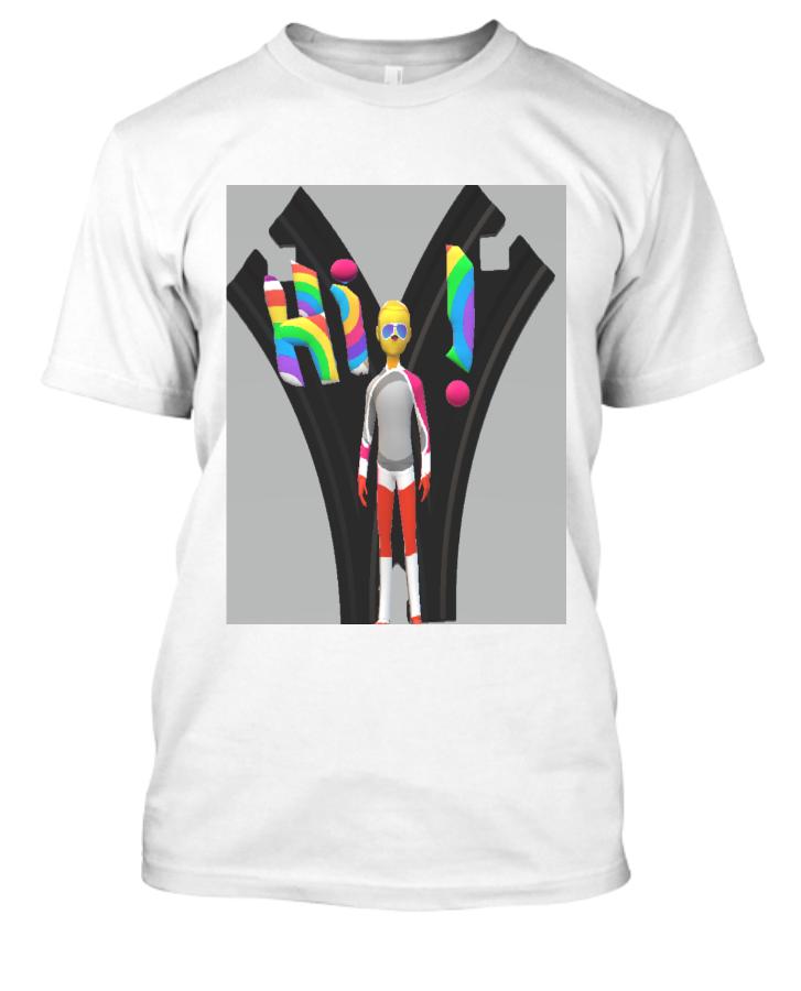 Hi T-Shirt - Front