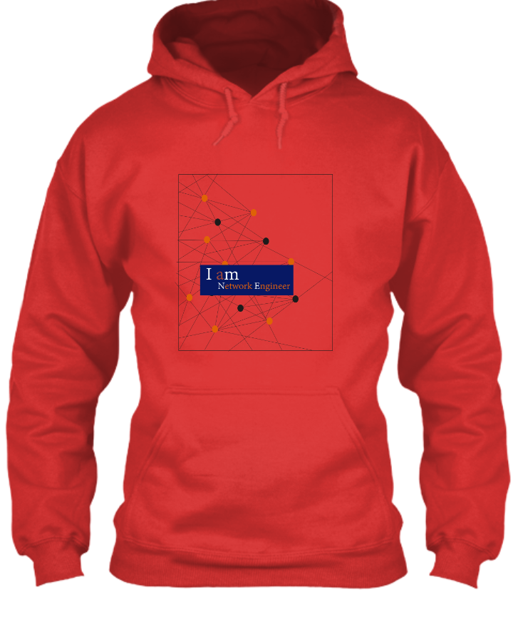 I am Network Engineer Hoodie - Front