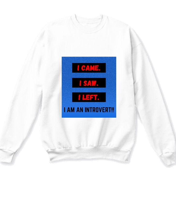 Introvert sweatshirt - Front
