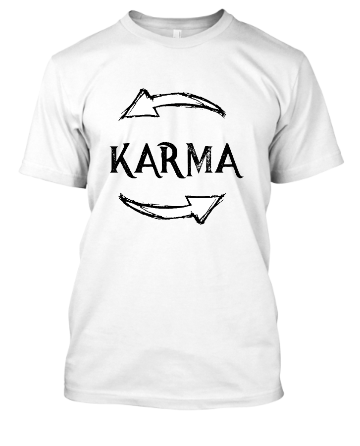 Karma Quotes - Front
