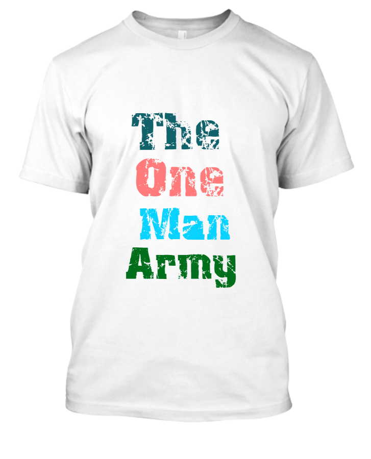 New Solid Stylish T-Shirt  - Front
