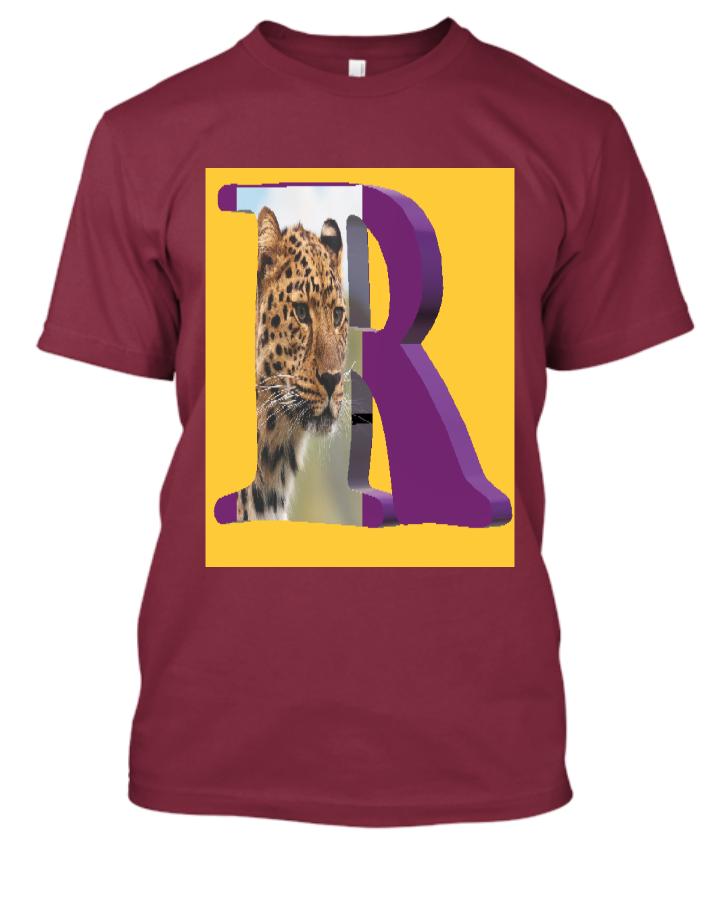 Letter 'R' T-Shirt - Front