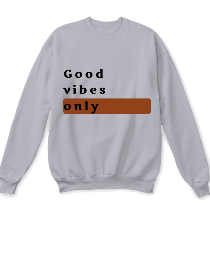 Texted sweatshirt - Front