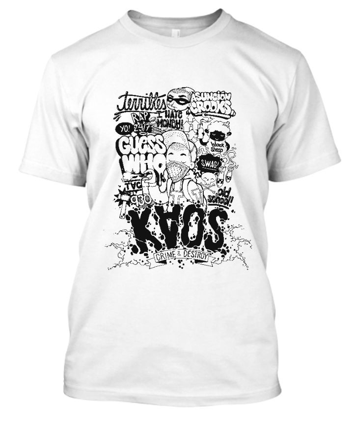 Typography - Tee Shirt - Front