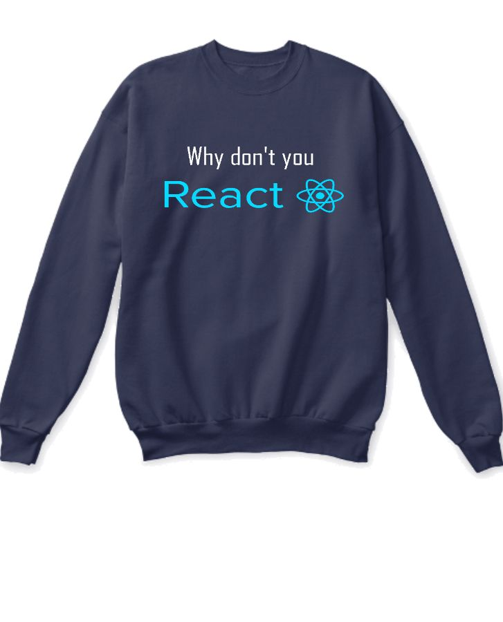 Why dont you react ss - Front