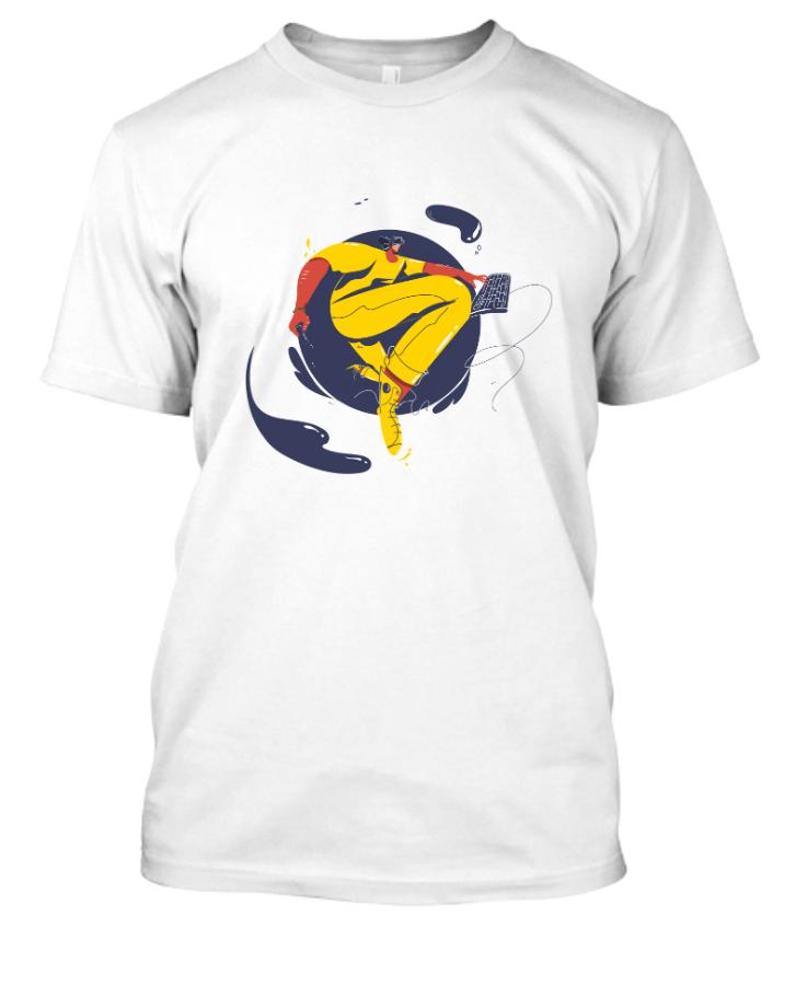 Wonderful illustrated T-Shirt Design - Front