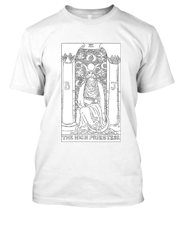 tarot half sleeve t-shirt - Front
